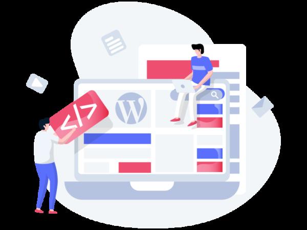 Sites em WordPress